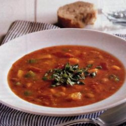 Pinto Bean, Tomato and Butternut Squash Soup recipe