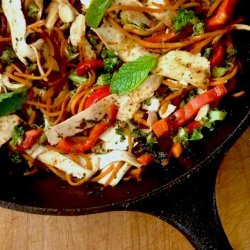 Vegetable Stir-Fry with Tofu recipe