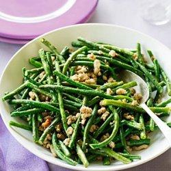 Stir-fried Pork and Long Beans recipe