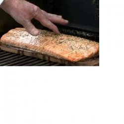 Planked Salmon on the Grill recipe