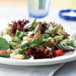 Gazpacho Salad with Cannellini Beans and Feta recipe