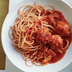 Turkey Meatballs and Spaghetti recipe