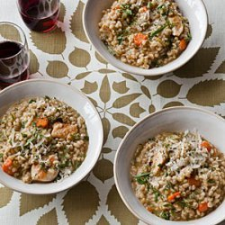 Chicken and Barley Stew with Dill and Lemon recipe