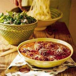 Pasta Sauce with Meatballs recipe