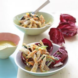Chicken Salad in Radicchio Cups recipe