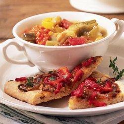 Chickpea-Artichoke Stew with Rouille recipe
