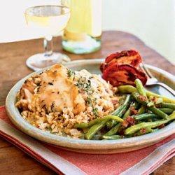 Parmesan Chicken and Rice Casserole recipe