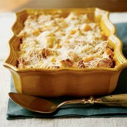 Butternut Squash and Parmesan Bread Pudding recipe