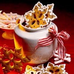 Gingerbread Snowflake Cookies recipe