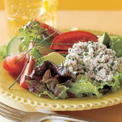 Crab Salad with Avocado and Tomato recipe