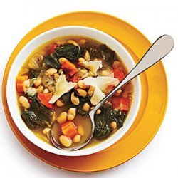 Tuscan White Bean Soup with Escarole recipe