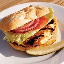 Grilled Grouper Sandwich with Chipotle Tartar Sauce recipe