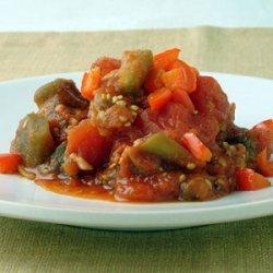 Eggplant and Tomato Tagine recipe