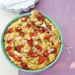 Salmon and Brie Breakfast Strata recipe