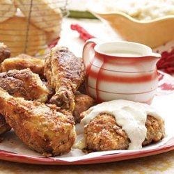 Fried Chicken and Milk Gravy recipe