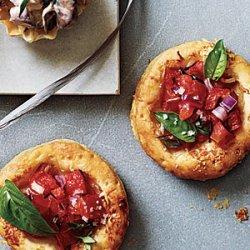 Mini Tomato-Parmesan Tarts recipe