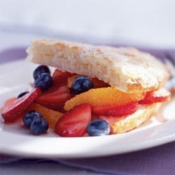 Triple-Fruit Shortcakes recipe