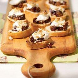 Fig and Goat Cheese Bruschetta recipe