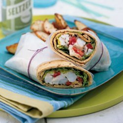 Lobster Wraps with Lemon Mayonnaise recipe