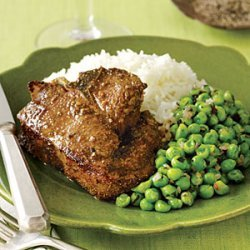Lamb Chops with Basmati Rice recipe