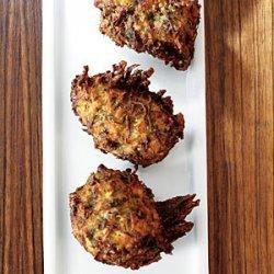 Herbed Zucchini Feta Fritters recipe