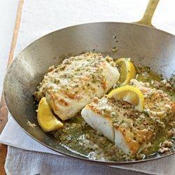 Roast Cod with Garlic Butter recipe