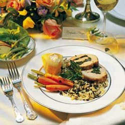 Wild Rice Pilaf With Baby Carrots recipe