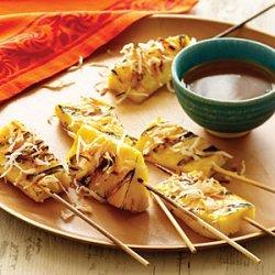 Pineapple Satays with Coconut Caramel recipe