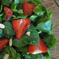 Strawberry and Spinach Salad from Hope Coppola recipe