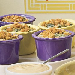 Baked Grits and Greens recipe