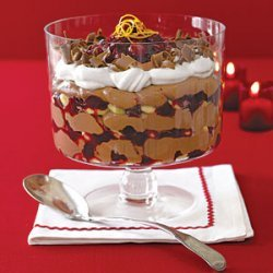 Cranberry and Chocolate Trifle recipe