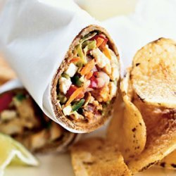 Spiced Fish Wraps with Chile-Lime Slaw recipe