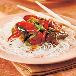 Pork Stir-Fry with Orange Sauce recipe