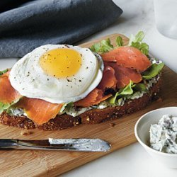 Smoked Salmon and Egg Sandwich recipe