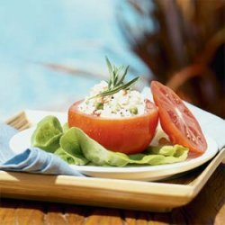 Tarragon Crab Salad in Tomato Cups recipe