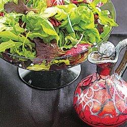 Green Salad with Beet Vinaigrette recipe