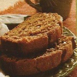 Pudding Pumpkin Bread recipe