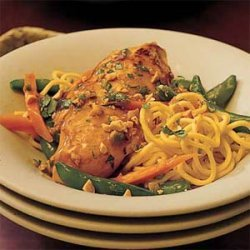 Gingered Chicken with Noodles recipe