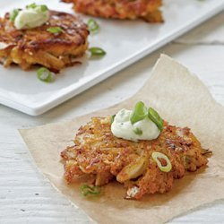Mini Sesame, Scallion, and Lime Crab Cakes with Wasabi Mayonnaise recipe