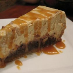 Brownie Caramel Cheesecake recipe