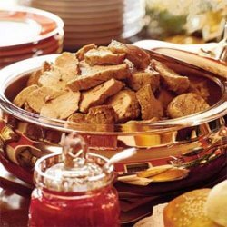 Pork Tenderloin Sandwiches With Cranberry-Coriander Conserve recipe