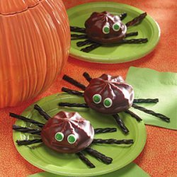 Marshmallow Cookie Spiders recipe