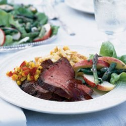 Hickory Grilled Beef with Henry Bain Sauce recipe
