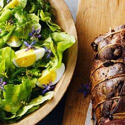 Butter Lettuce and Egg Salad recipe