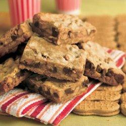 Peanut Butter Candy Bar Brownies recipe