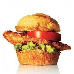 Southwest Crispy Chicken Sliders recipe