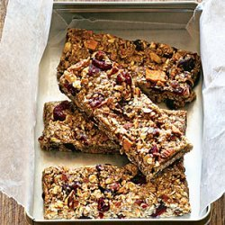 Fruit and Nut Chewy Bars recipe