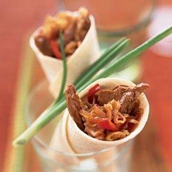 Mu Shu Pork Wraps recipe