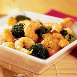 Curried Coconut Shrimp Stir-Fry recipe