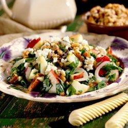 Harvest Salad with Cider Vinaigrette recipe